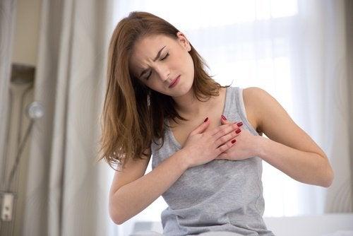 Schmerzen-Brust