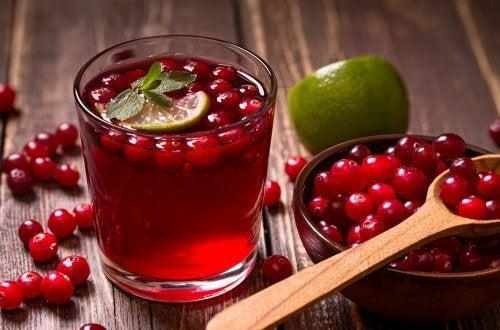 Cranberry-Saft: gesundheitsfördernde Eigenschaften