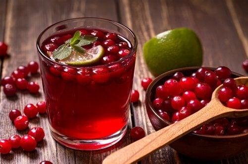 cranberrysaft abnehmen