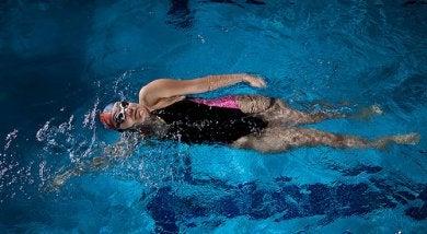Weniger Stress durch Schwimmen