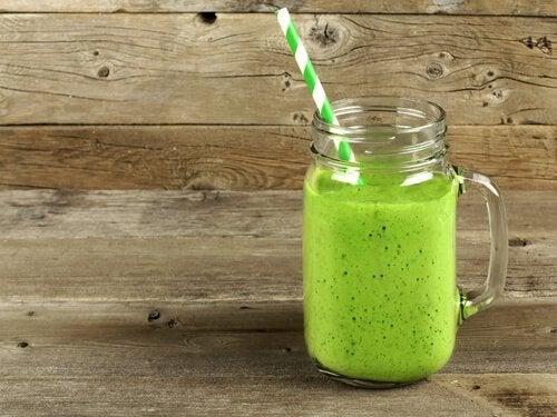 grüne Getränke