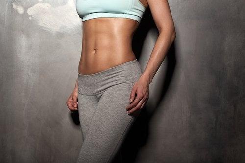Trainierter Bauch