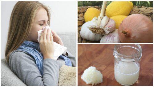 Zwiebelkur gegen Husten, Grippe und Allergien