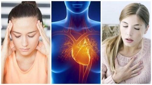 7 Symptome vom Herzinfarkt bei Frauen, die häufig übersehen werden