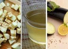 Auberginenwasser mit Zitrone 5 Gründe für den Konsum