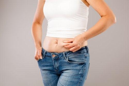 Bauchfett bei einer Hormonstörung