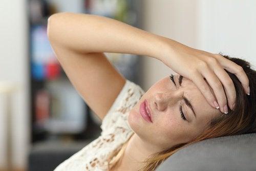 Kopfschmerzen sind ganz schön unangenehm
