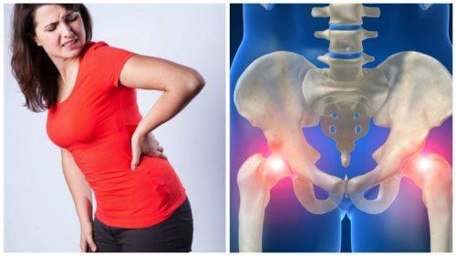 Mögliche Ursachen von Schmerzen in der Hüfte
