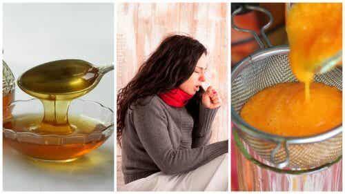 Schleimlösender Sirup mit Karotte und Honig