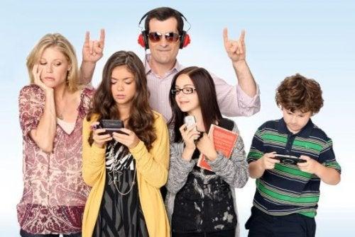 Verrückte Familie Teenager
