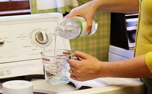 Essig-Wäsche