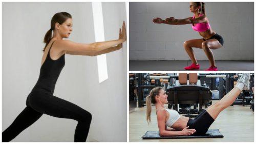 6 Übungen, um ohne Geräte oder Gewichte fit zu bleiben