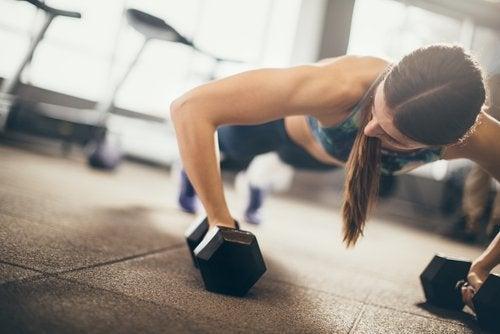 Muskeltraining um den Stoffwechsel zu aktivieren