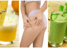 5 entschlackende Mixgetränke gegen Flüssigkeitsretention