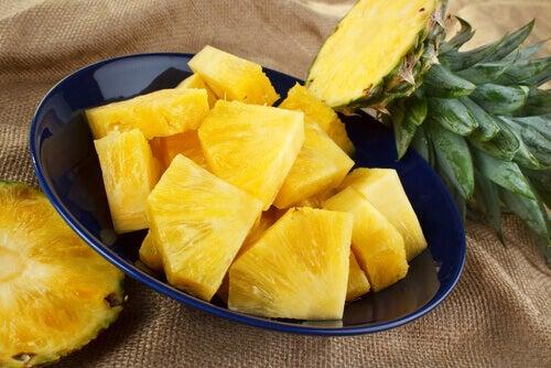 Lebensmittel gegen Entzündungen: Ananas