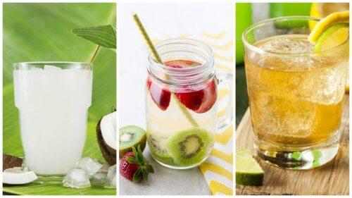 Erfrischende, kalorienarme Getränke für den Sommer!