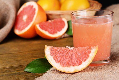 Grapefruitsaft gegen Fettleber
