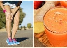 Knochen stärken und Schmerz lindern mit natürlichem Getränk