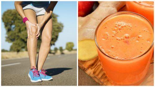 Stärke deine Knochen und lindere Gelenkschmerzen mit diesem natürlichen Drink