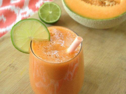 Melonenshake Flüssigkeitsretention