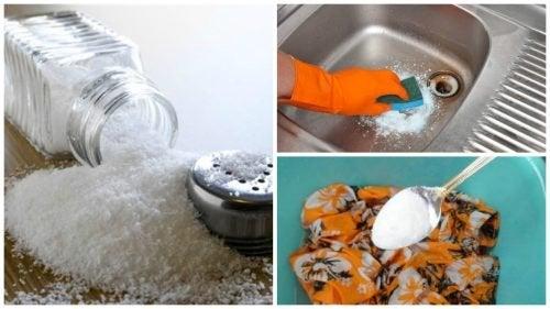 Mit diesen 7 Tricks mit Salz erledigst du deine Reinigungsarbeiten auf ökologische Weise