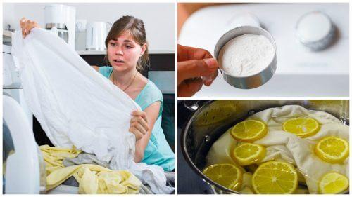 Vergilbte Kleidung? 5 Waschtricks für weiße Wäsche!
