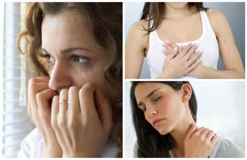 10 physische Anzeichen für Nervosität und Angst