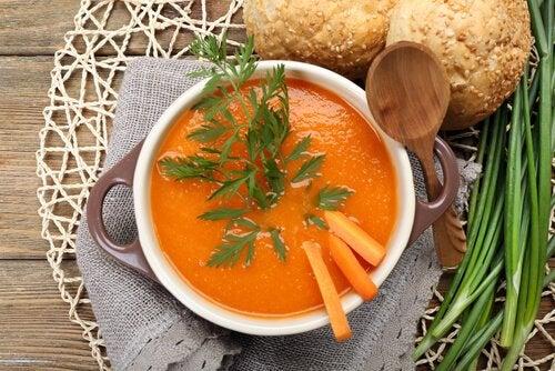 Karottensuppe zur Fettverbrennung