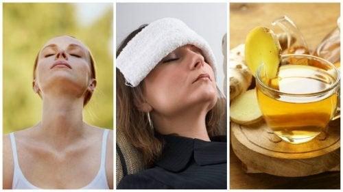 Kopfschmerzen ohne Medikamente lindern: 6 Tipps