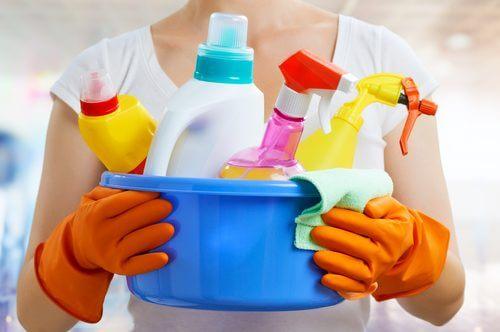 niemals chemische Reinigung