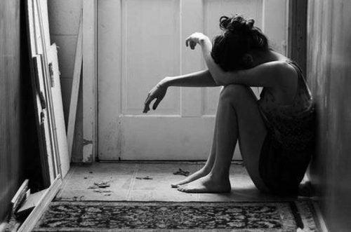 traurige-Frau