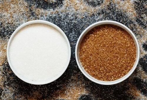 Zuckerverzicht, denn weißer und auch brauner Zucker sind ungesund