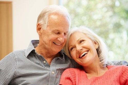 Altern von Mann und Frau