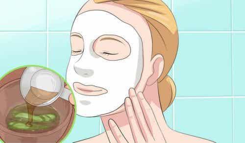 Gesichtsmasken aus Aloe Vera für jeden Hauttyp