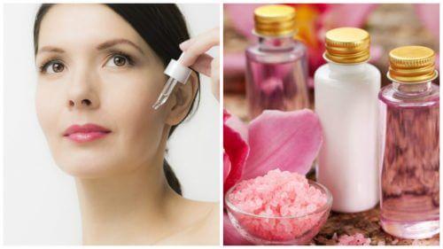 Gesichtspflege: Straffe und jüngere Haut mit diesen 4 natürlichen Seren