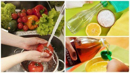 Die 7 besten Tricks um Obst und Gemüse zu desinfizieren
