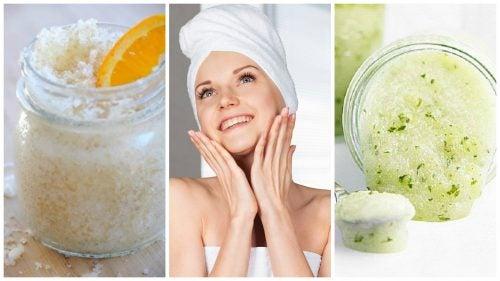 Lerne deine Haut mit diesen 5 hausgemachten Peelings auf natürliche Weise zu reinigen