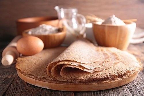 Tortillas mit Zucker