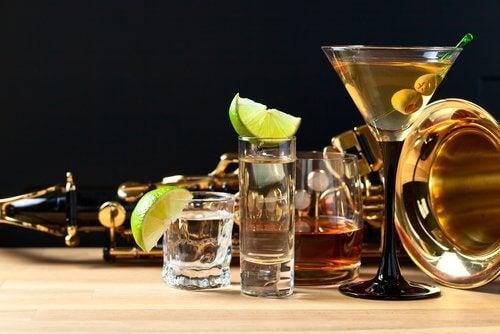 alkoholische Getränke bei Migräne