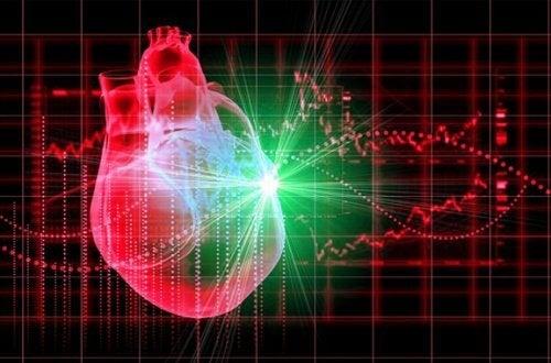 ein starkes Herz durch Rotkohl