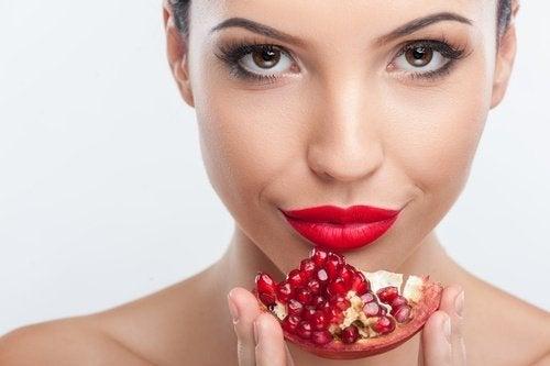 Granatapfel für schöne Haut