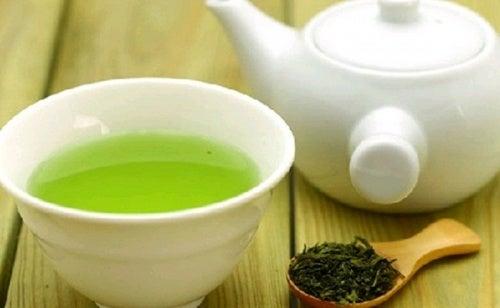 grüner Tee für die Leber