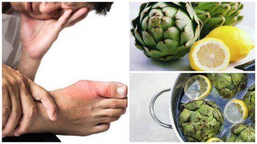 Harnsäurewerte mit Artischocke und Zitrone reduzieren