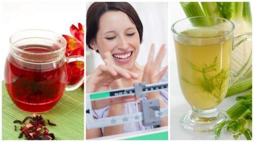 6 natürliche Aufgüsse zur Gewichtsreduktion