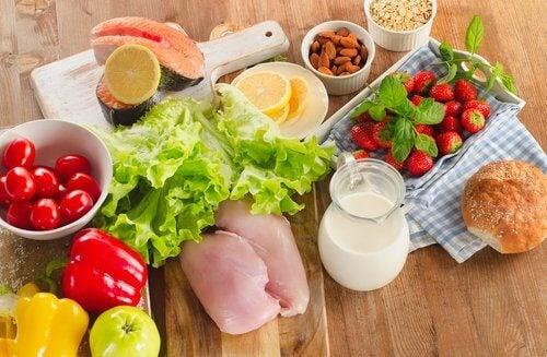 Allergien auf Nahrungsmittel