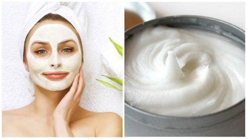 Aspirin und Joghurt – Gesichtsmaske zur Aufhellung von Hautflecken