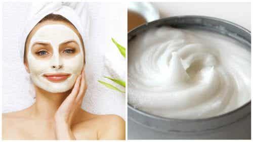 Aspirin und Joghurt - Gesichtsmaske zur Aufhellung von Hautflecken