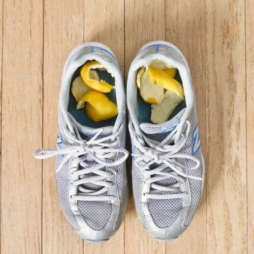 Zitronen gegen müffelnde Schuhe