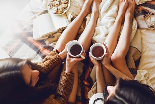 Tees bei schweren Beinen