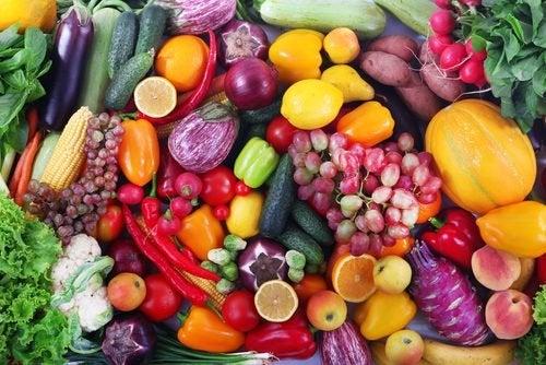 Gemüse und Obst für schöne Haut